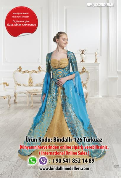 Bindallı-126 turkuaz